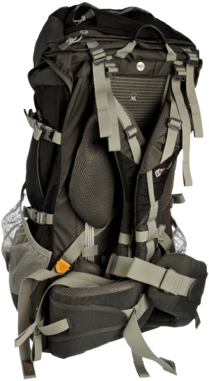 The Berghaus Verden 65 Rucksack +10 is a lightweight, large and comfprtable piece of kit that will cater for the long haul hikers and trekkers out there. It's a top loader with several outer pockets to compatmentize your essentials. there is also a couple of large mesh pockets on either side for your drinks, or insect spray...quick access! The rucksack is also hydration pack compatible with the usual tube access allowing water refreshmant when on the trail. Inside the main compartment, you can seperate into two areas for dirty and clean clothes and the volume is big enough to cater for both. The biofit system incorporated inti the Berghaus Verden 65 Rucksack allows the wearer, tall or short, to get the right fit with many straps for exact positioning. the rucksack really hugs your body, essential if you're crrying haevy loads. The padded sternum strap gives you even more stability. The secure strap system will give you good back support for those long trips and the strong material is made to last giving the Berghaus Verden 65 Rucksack a robust feel. The attached waterproof cover is large enough to cover the whole rucksack and with a little extra roon if have an attached sleeping back positioned at the bottom. The colour is also a very striking jet black and coal combination. A couple of concern that do crop up are all to do with the straps. Nothing like being weak or anything, it's just that there are so many of them! Some are very long and may need to be taped or knotted to reduce their length, and if you're a novice, there are no instructions as to how the straps should be adjusted. If it's your very first purchse of a large hiking rucksack, a litle trial and error in getting the comfort settings may be needed. Overall, we give the Berghaus Verden 65 Rucksack +10 a healthy 4.1 out of 5. You can rely on the quality brand of Berghaus, they rarely let you down. the Biofit is a good idea, easpecially if you're taller or shorter than avaerge. Go here to see more info o