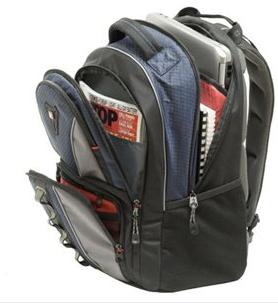 Swissgear Cobalt Laptop Backpack Swissgear GA-7343-06 Cobalt 15.6 Inch Laptop Backpack